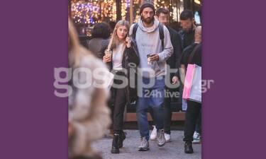 Σαμαράς - Κομμάτα: Μετά την πρόταση γάμου στο Παρίσι, βόλτα και ψώνια στο κέντρο της Αθήνας (Photos)