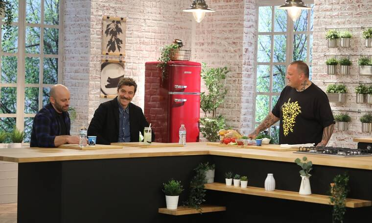 Πρεμιέρα για το Food n' Friends – Μπεκατώρου και Στάνκογλου στην... κουζίνα (Photos)