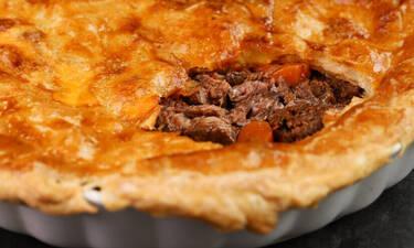 Πίτα με μοσχάρι από τον Γιώργο Τσούλη