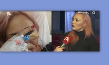 Πηνελόπη Αναστασοπούλου: Οι πρώτες δηλώσεις on camera μετά το ατύχημα στο θέατρο