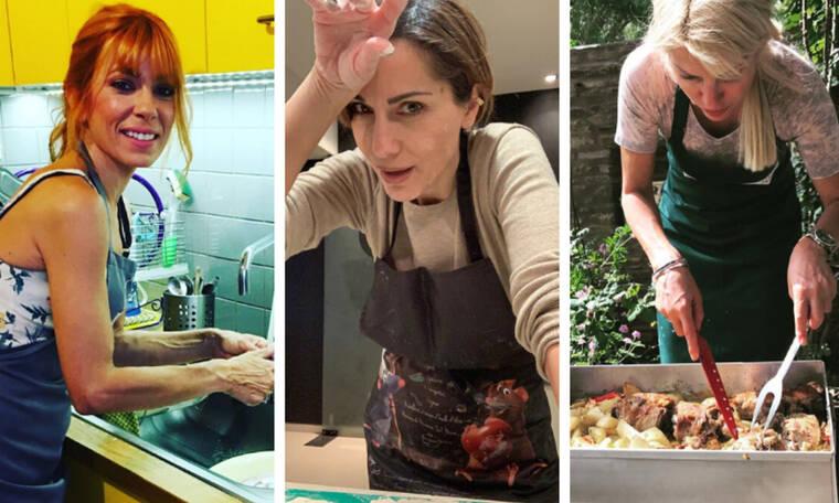 Οκτώ Ελληνίδες διάσημες που λατρεύουν τη μαγειρική (pics)