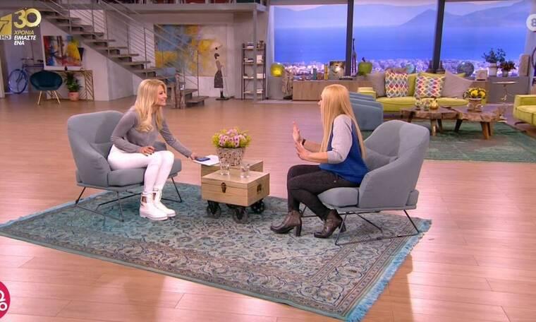 Έλντα Πανοπούλου: Αυτός είναι ο λόγος που ζήτησε να μην της κάνουν κοντινά πλάνα στο Πρωινό!