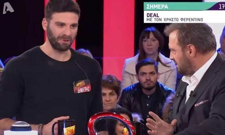 Deal: Ο παίκτης - «γυπαετός» και το τρολάρισμα του Φερεντίνου (Video)