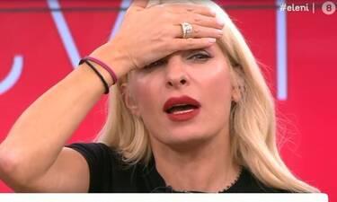Ελένη Μενεγάκη: Το σημάδι στο πρόσωπό της – Τι της συνέβη;