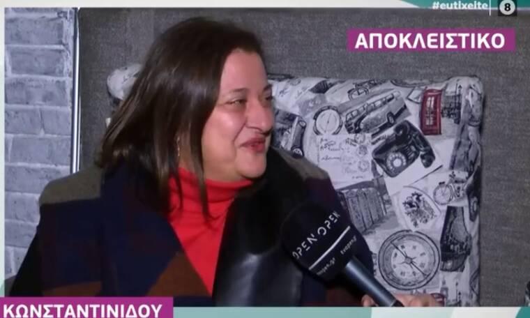 Η αντίδραση της Ελισάβετ Κωνσταντινίδου για την κόντρα της με τον Γιώργο Καπουτζίδη (video)