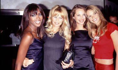 Πώς ήταν τα supermodels την δεκαετία του '90;