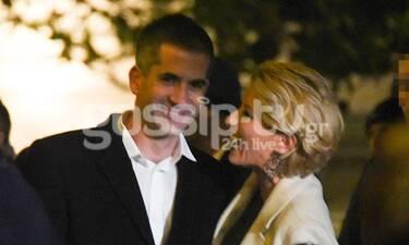 Σία Κοσιώνη-Κώστας Μπακογιάννης: Χαμόγελα ευτυχίας για το ζευγάρι - Πιο ερωτευμένοι από ποτέ