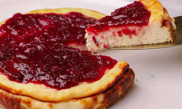 Fiadone: Ένα νοστιμότατο cheesecake από τον Γιώργο Τσούλη