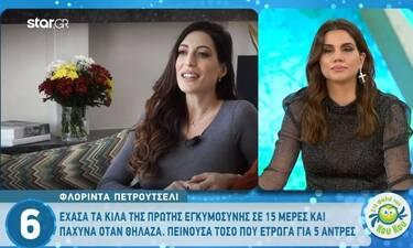 Φλορίντα Πετρουτσέλι: Ανοίγει το σπίτι της στον 6ο μήνα της εγκυμοσύνης της! Θα πάθετε πλάκα! (vid)