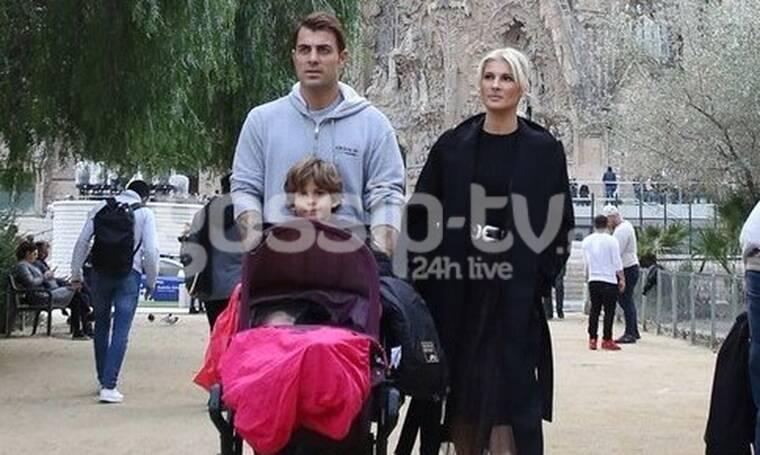 Χανταμπάκης - Πηλιάκη: Στη Βαρκελώνη με τα παιδιά τους! Υπέροχες φωτό από τις διακοπές τους!