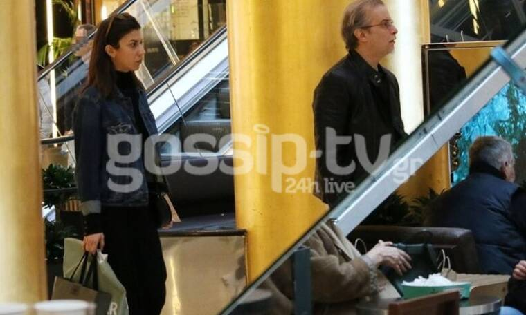 Μίλτος Πασχαλίδης: Βόλτα και ψώνια με τη σύντροφό του! (Photos)