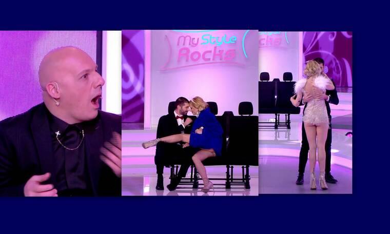 My Style Rocks Gala:Τα σέξι πλάνα της παίκτριας που μας τρέλαναν! Άφωνος ο Νίκος Μουτσινάς (Photos)