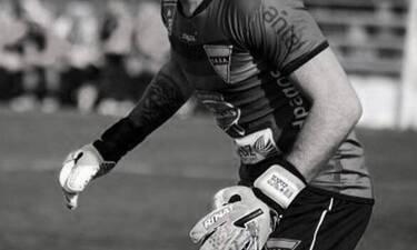 Τραγωδία: Πέθανε 28χρονος Έλληνας τερματοφύλακας - Βαρύ πένθος στο ελληνικό ποδόσφαιρο