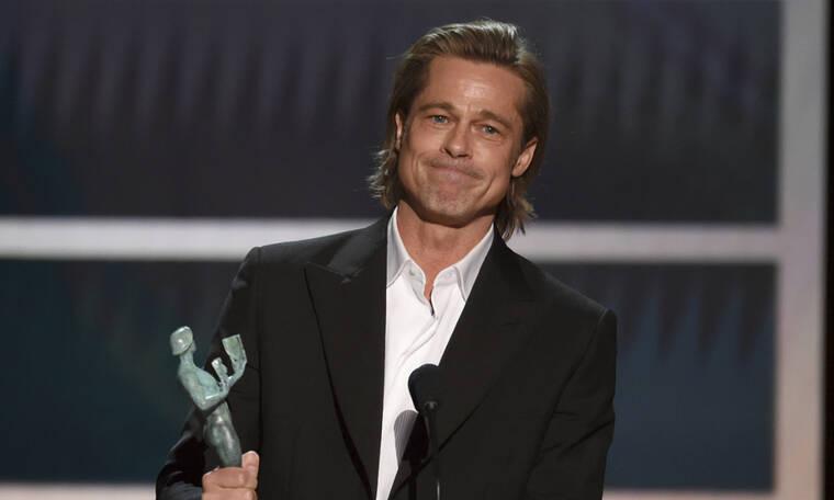 Ο Brad Pitt έπιασε στο στόμα του την Jolie στην ομιλία που έγινε viral