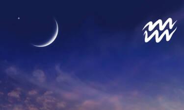 Νέα Σελήνη στον Υδροχόο: Έρχεται να ανατρέψει τα δεδομένα στη ζωή αυτών των ζωδίων