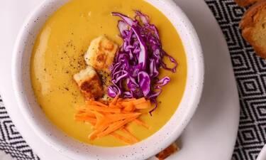 Πεντανόστιμη σούπα από κάρυ