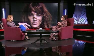 Συγκλονίζει η Μαίρη Συνατσάκη: «Παρέλυσα, υπήρχε κίνδυνος να πεθάνω» (Video)