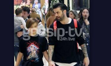 Θοδωρής Μαραντίνης- Φίλιππος Ραφαήλ: Μπαμπάς και γιος έχουν ακριβώς το ίδιο στυλ (photos)