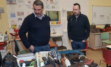 Ο Τάσος Τρύφωνος επισκέφθηκε τον Σύνδεσμο Προστασίας για Παιδιά και Αμέα