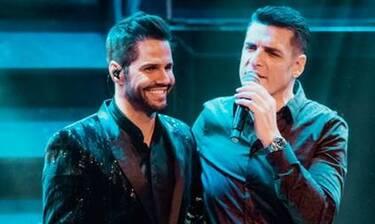 Ο Γιώργος Τσαλίκης υποδέχθηκε onstage  τον Στέλιο Διονυσίου, τον Χρίστο Αντωνιάδη και την Ελπίδα