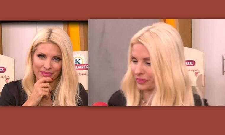 Δάκρυσε η Ελένη Μενεγάκη: Συγκινημένη αποχώρησε από το πλατό!  (Video & Photos)