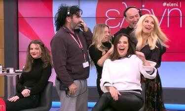 Ελένη: Της έκανε φάρσα και κατατρόμαξε on air! (Video)