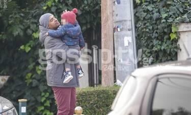 ΗσαΐαςΜατιάμπα: Είναι ο πιο τρυφερός μπαμπάς! Στην παιδική χαρά με τον γιο του! (Photos)