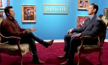 Σατσίδης: Συνάντησε τον θρύλο του Αμερικανικού wrestling και νυν ηθοποιό του Χόλιγουντ, John Cena