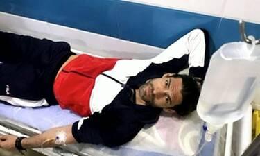 Γιάννης Σπαλιάρας: Νοσηλεύεται στο Ιράν– Όλα όσα είπε για την περιπέτεια της υγείας του
