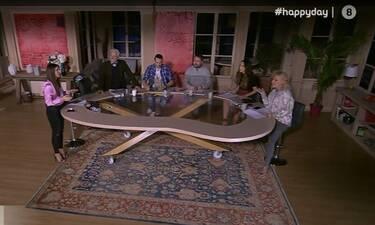 Happy Day: Στο σκοτάδι η εκπομπή της Σταματίνας Τσιμτσιλή – Δείτε την αντίδρασή της