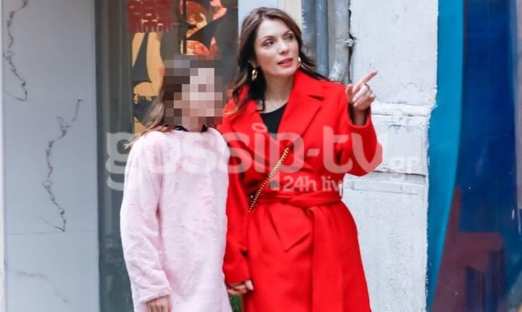 Αλεξάνδρα Πασχαλίδου: Ξενάγησε την κόρη της, Μελίνα, στην Αθήνα (photos)