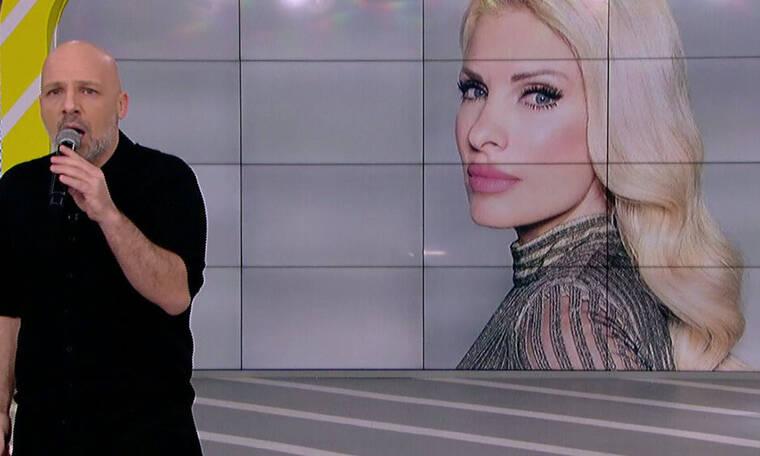 «Η TV ψυχορραγεί, η γη την τρομάζει» και κάπως έτσι ο Μουτσινάς σχολίασε την αποχώρηση της Ελένης