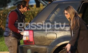 Αθηνά Οικονομάκου – Φίλιππος Μιχόπουλος: Το ζευγάρι έτσι όπως δεν το έχεις ξαναδεί! (photos)