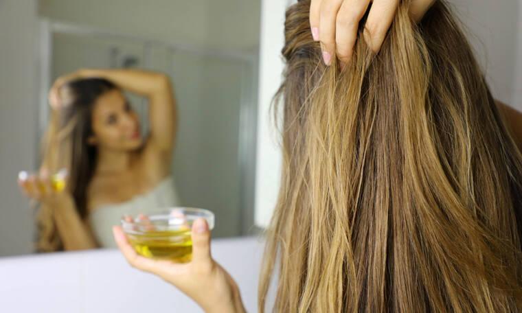 Ξηρά μαλλιά: 5 λόγοι που το ελαιόλαδο είναι η καλύτερη θεραπεία (εικόνες)