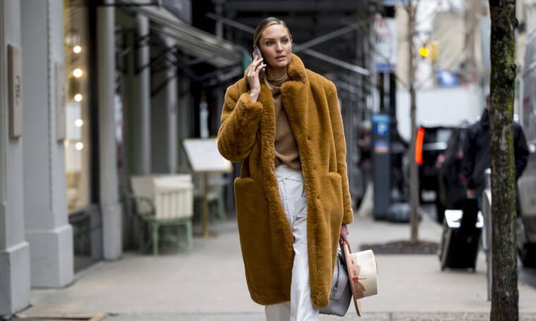 Faux Fur Coat: 6 στυλάτοι τρόποι να φορέσεις το απόλυτο παλτό γι' αυτήν την εποχή