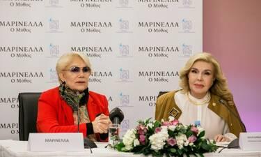 Η Μαρινέλλα ενώνει τις δυνάμεις της  με την «Ελπίδα» (Photos)