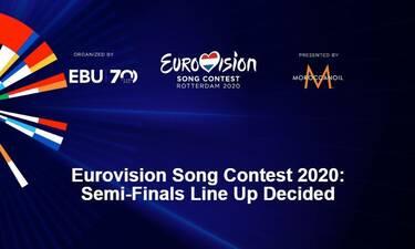 Eurovision 2020: Σε διαφορετικούς ημιτελικούς διαγωνίζονται Ελλάδα και Κύπρος (video)