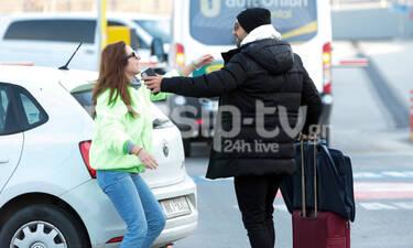 Το ζεύγος Τανιμανίδη στη Θεσσαλονίκη – Ποια αγκαλιάζει ο Σάκης τόσο γλυκά μπροστά στην Μπόμπα;
