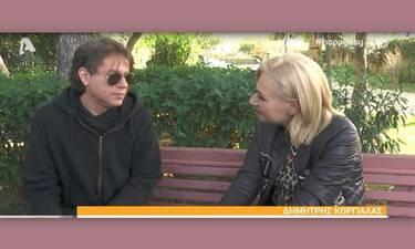 Δημήτρης Κοργιαλάς: Μιλά πρώτη φορά για τον χωρισμό του από την Φωτεινή Ψυχίδου!