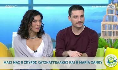 Χατζηαγγελάκης-Χάνου: Το ζευγάρι της «Μουρμούρας» μιλάει για την πραγματική σχέση που το συνδέει!