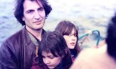 Γιώργος Κοτανίδης: Ραγίζει καρδιές ο αποχαιρετισμός των κοριτσιών του στην κηδεία του (photos)