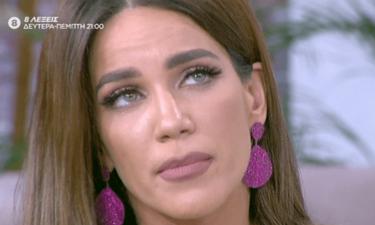 Τα δάκρυα της Κατερίνας Στικούδη on air: «Ο χαμός ενός ανθρώπου πάντα σε πονάει» (video)