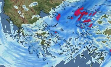 Καιρός: Τριήμερο κακοκαιρίας και χιονοπτώσεων! Πιθανότητες και για την Αθήνα; (photos)