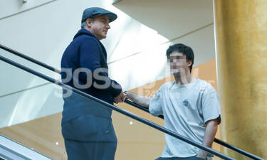 Ο Δημήτρης Αργυρόπουλος για ψώνια με τον γιο του Άρη – Όλες οι φωτογραφίες (photos)