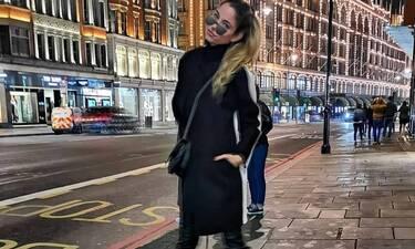 Δούκισσα Nομικού: Δες την να κάνει βόλτες στο Λονδίνο και σίγουρα θα ζηλέψεις το outfit της!