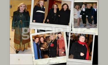 Μαγική βραδιά με τη Μαρινέλλα για την Ελπίδα! Ήταν όλοι εκεί! (photos)