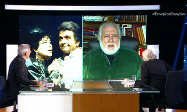 Κώστας Καζάκος: Μιλά για την Τζένη Καρέζη και την κουμπαριά τους με τον Άγγελο Αντωνόπουλο