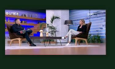 Κατερίνα Δαλάκα: Δεν φαντάζεστε τι αποκάλυψε on air για τη σχέση της με τον Δημήτρη Φιντιρίκο