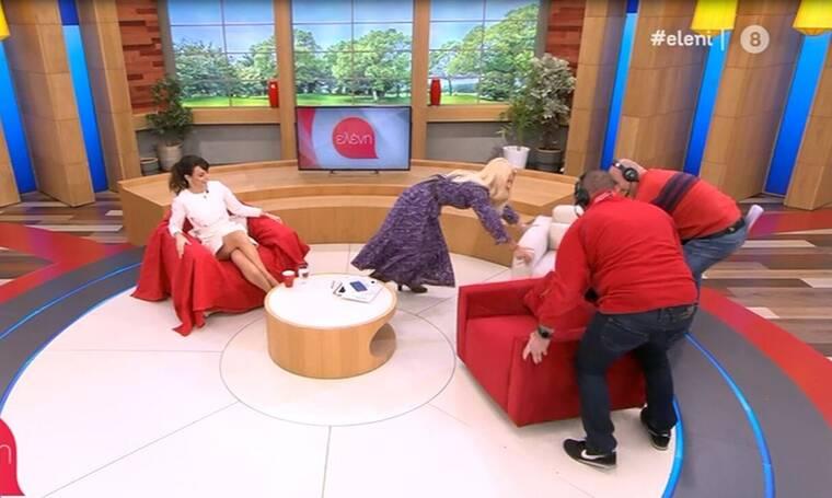 Ελένη Μενεγάκη: Απίστευτο! Άρχισε να αλλάζει on air το σκηνικό της εκπομπής της!