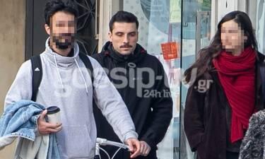 Σπύρος Χατζηαγγελάκης: Βόλτα με φίλους και το… ποδήλατο! (photos)